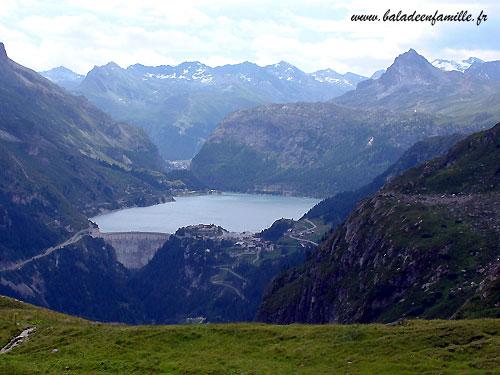 Balades le lac du chevril - Lac du chevril ...