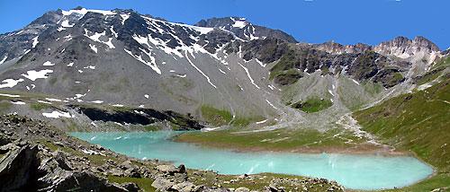 Randonn e au lac blanc au refuge de peclet polset for Hotel pralognan la vanoise piscine