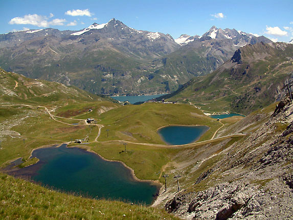 Balades diaporama sur les lacs du chardonnet - Lac du chevril ...