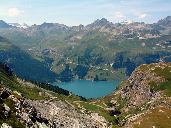 Diaporama sur la balade au lac du plan de cheval - Lac du chevril ...